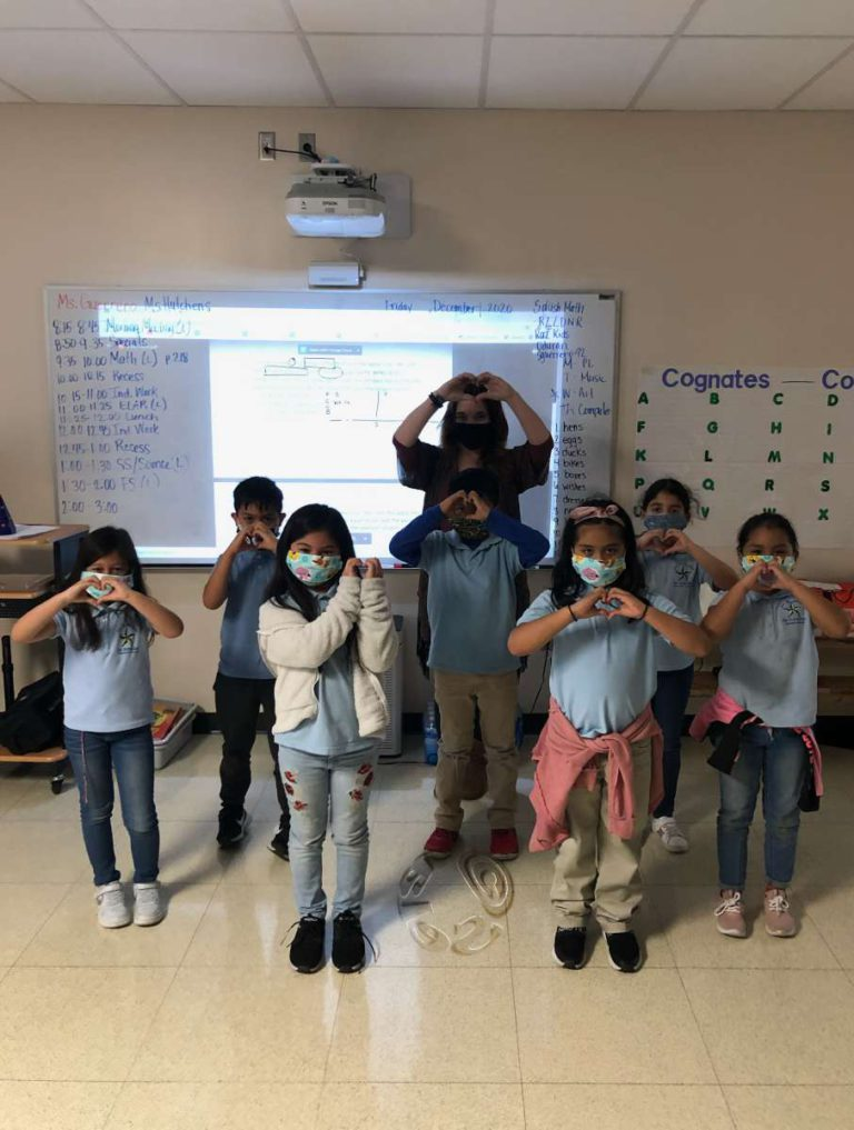 Dallas school kids love their masks donated by DonationSmile volunteers