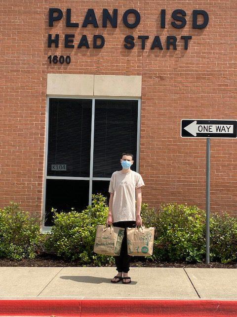 Head Start Plano Texas School Gets Donation of Schools Supply To Needy Kids