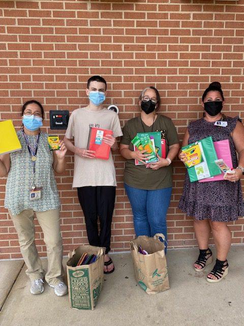 HeadStart Plano Texas School Gets School Supplies to Needy Kids